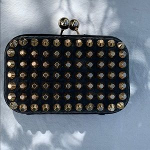 Street Level Purse with gold accents
